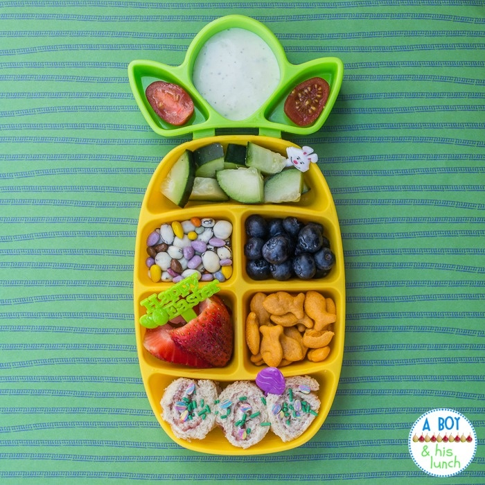 Toddler Lunch In The Nibble Tray