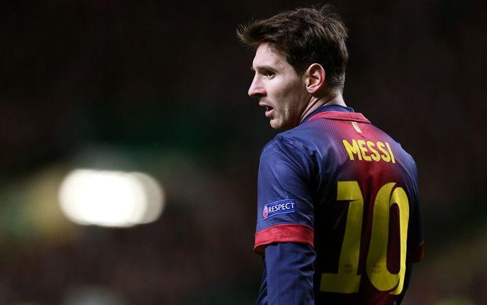 Lataa kuva Lionel Messi, FC Barcelona, Jalkapallo, Espanja, jalkapallo tähteä, Leo Messi, Argentiina