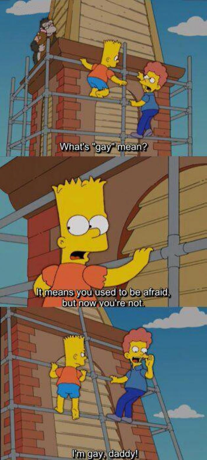 This is why I love Bart Simpson…