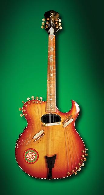 Andy Summers' Hamer Harp Guitar Custom made Hamer guitar