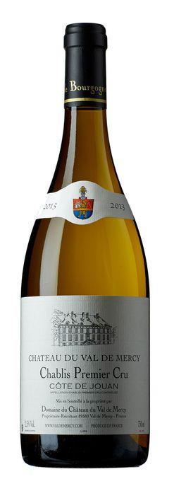 White Wine>France>Burgundy >Ch. du Val de Mercy Chablis 1.er Cru Côte de Jouan 2014