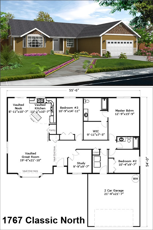 Idaho House Plans – Idaho Home Plans
