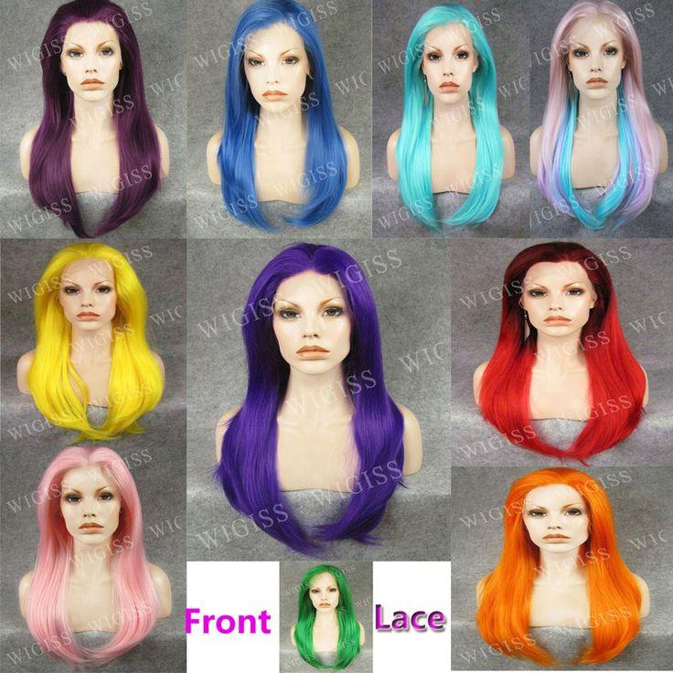 New Coming ! Front Lace STYLISH Female WIG Kanekalon Fiber Synthetic colorful #WIGISS #FullWig http://www.ebay.com/itm/New-Coming-Front-Lace-STYLISH-Female-WIG-Kanekalon-Fiber-Synthetic-colorful-/321535185201?pt=LH_DefaultDomain_0&var=&hash=item76d7b1f896
