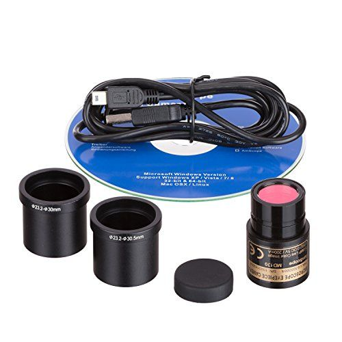 1.3 MP USB Still & Live Video Microscope Imager Digital Camera + Calibration Kit 1.3MP USB digital camera captures still images, streams live videos and is compatible with Windows XP/Vista/7/8/10, Mac OS X, and LinuxUser-friendly software for Windows offers editing/processing and advanced features including Stitching, EDF and measurement functionsSupport Native C/C++, Directshow, Twain  http://microscopes.mobi/product/1-3-mp-usb-still-live-video-microscope-imager-digital-camera-..
