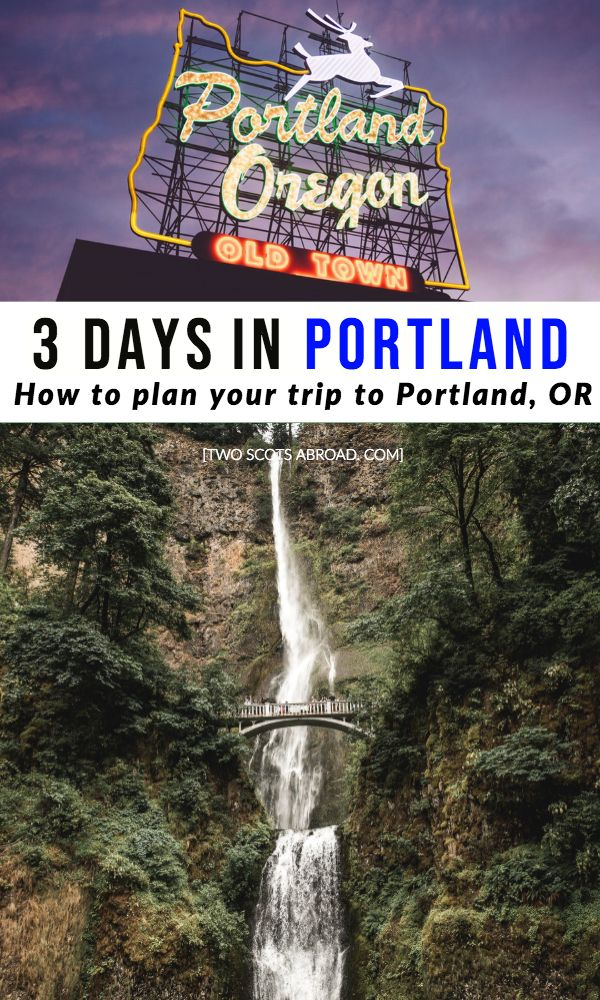 Portland Itinerary What Do In 3 Days Oregon Vacation Portland Travel Weekend In Portland