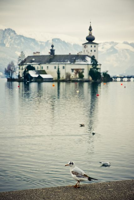 Gmunden, Austria (visiting this city was one of my favorite memories of studying abroad. Believe me, I have many favorites, but this is one of 'em.)