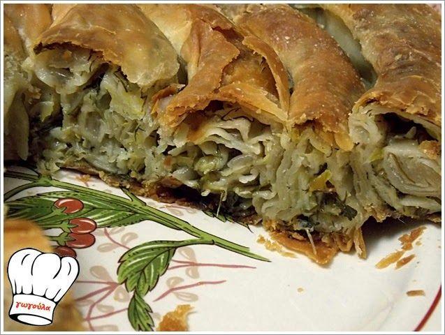 ΠΡΑΣΟΠΙΤΑ ΣΤΡΙΦΤΗ ΝΗΣΤΙΣΙΜΗ!!!         |          Νόστιμες Συνταγές της Γωγώς