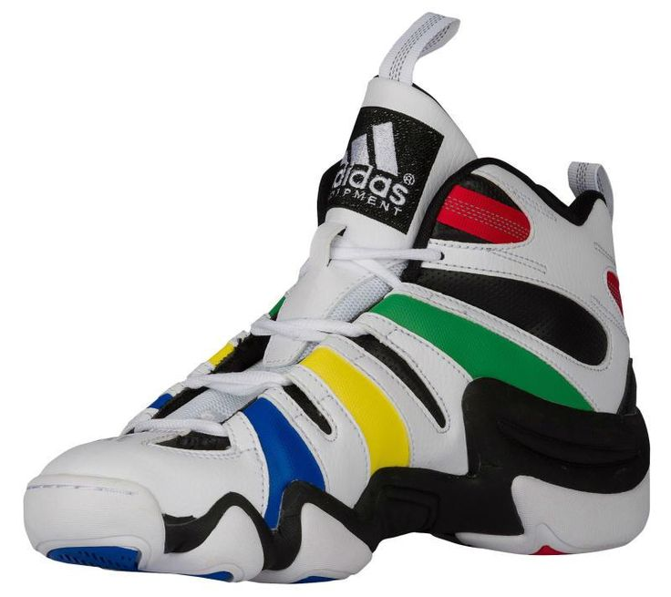 adidas Crazy 8 'Olympics' looks to be ready for Rio as it takes a colorway inspiration from the colors of the olympic rings.