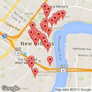 Ten best cheap hotels in New Orleans