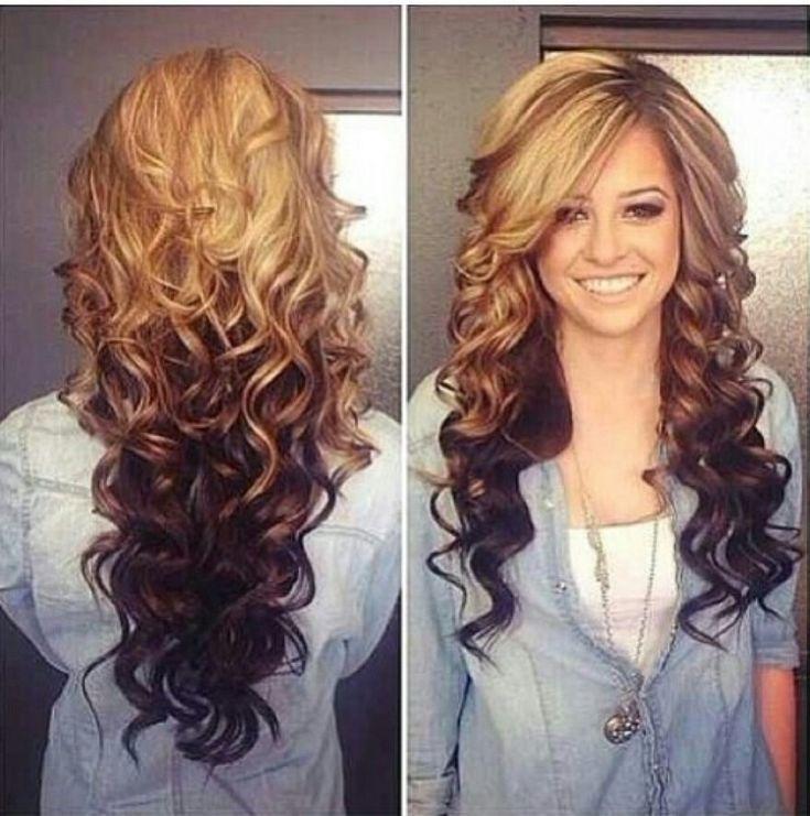 Blonde Und Braune Lange Frisur Überprüfen Sie mehr unter http://frisurende.net/blonde-und-braune-lange-frisur/40523/