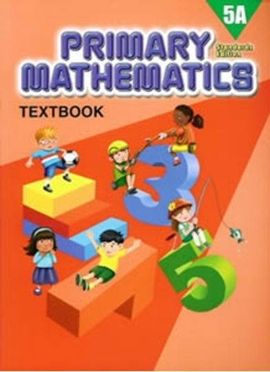 Picture of Singapore Math  Standards 5A Text