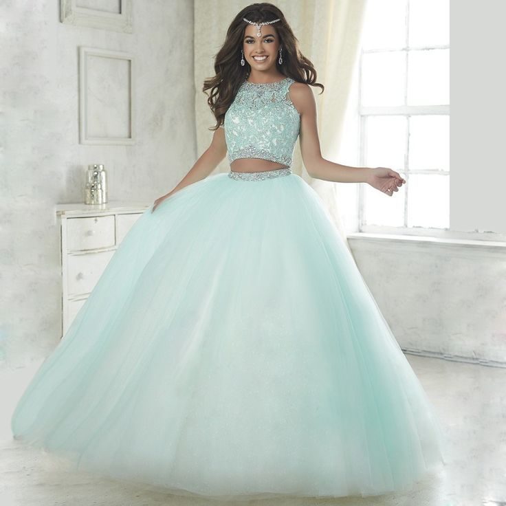 Find More Quinceanera Dresses Information about Elegant baby blue two piece quinceanera dresses 2016 ball gown beaded vestidos de 15 anos debutante blush pink sweet 16 dresses,High Quality quinceanera dresses 2016,China pink sweet 16 dresses Suppliers, Cheap sweet 16 dresses from 1888Wedding dress on Aliexpress.com