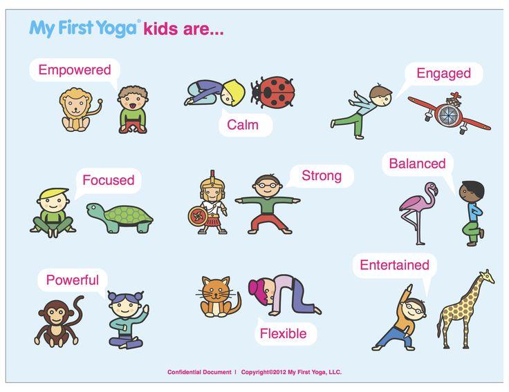 Kinderen en yoga. [Kids and yoga.] {Les enfants et yoga.}