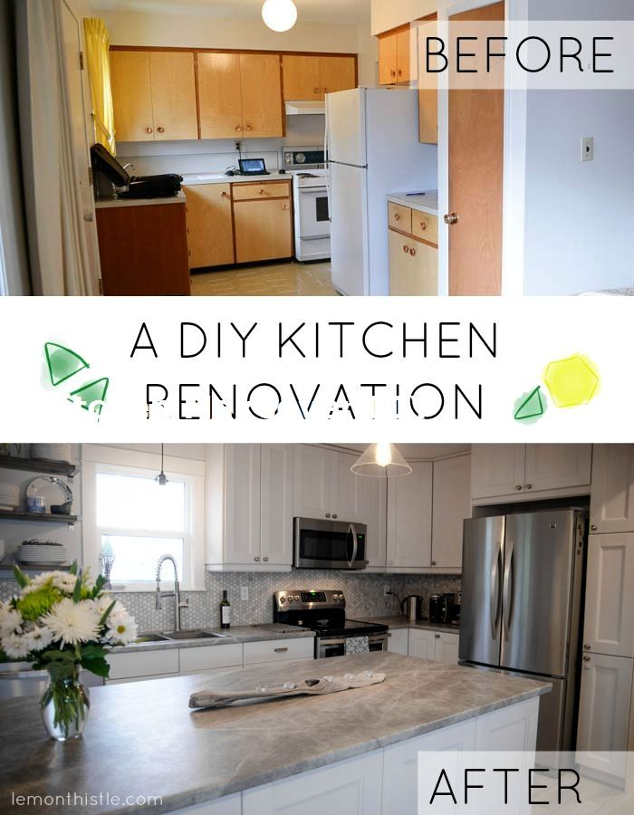 11 DIY Ideas for Kitchen Makeover 3 DIY  Craft ideas Pinterest - Kitchen Renovation On A Budget