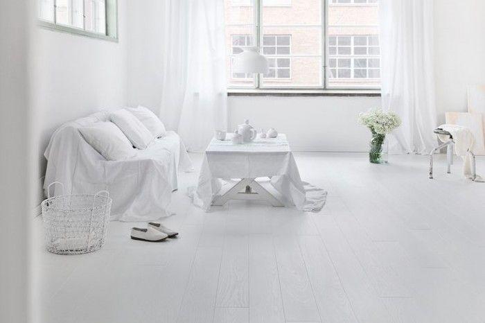 Poradnik - Białe podłogi - czy to dobry wybór? - Lares