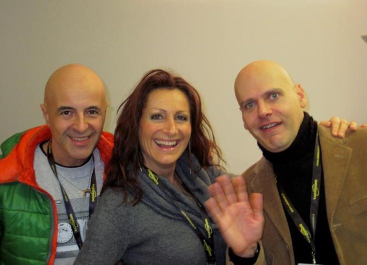 Con la Roxy e Michelangelo Pulci (ciao sono Mario,ho 42 anni e soffro di amnesia!!!