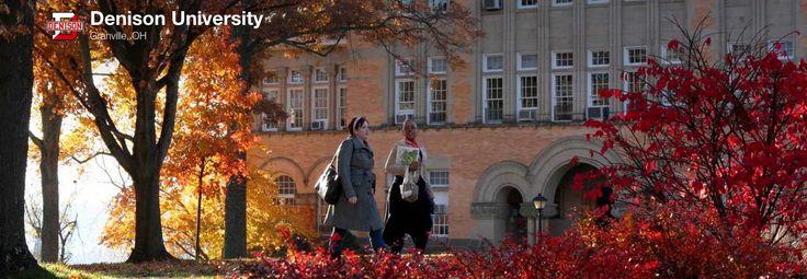 Denison University in Granville, OH. Check out their profile on Raise at https://www.raise.me/edu/denison-university !
