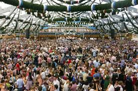beer festival germany 2015 -With plenty of stalls, fairground attractions and, of course, beer, the festival creates a real party atmosphere in the city
