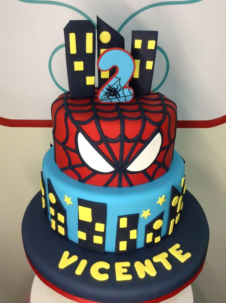 Hombre Araña - Cake - Marita's Bakery - Lima                                                                                                                                                                                 Más