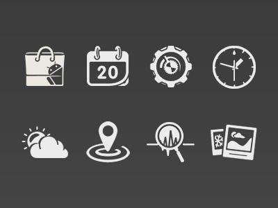 icon set by Shin