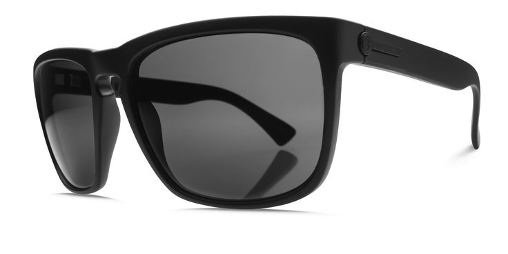 Electric Knoxville XL Matte Black M1 Grey Polarised Sunglasses