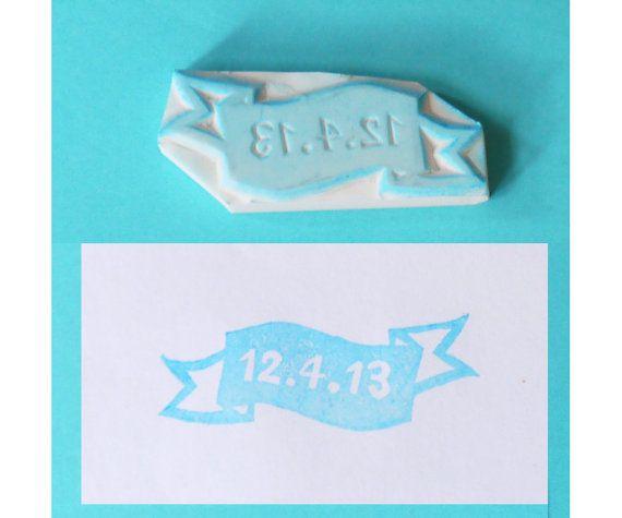 Save the date stamp  wedding stamp custom stamp by theKeris, $9.25