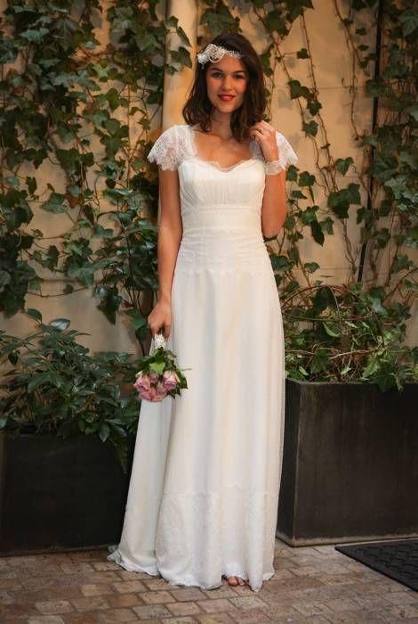 Luna - Chic et élégante - Robes de Mariées Paris Elsa Gary