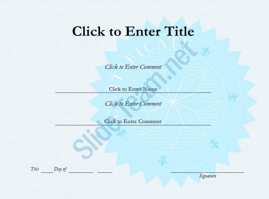 25+ melhores ideias de Certificate of completion template no - powerpoint certificate template