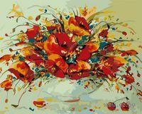 Картина по номерам `Весенний вальс` (400х500 мм)