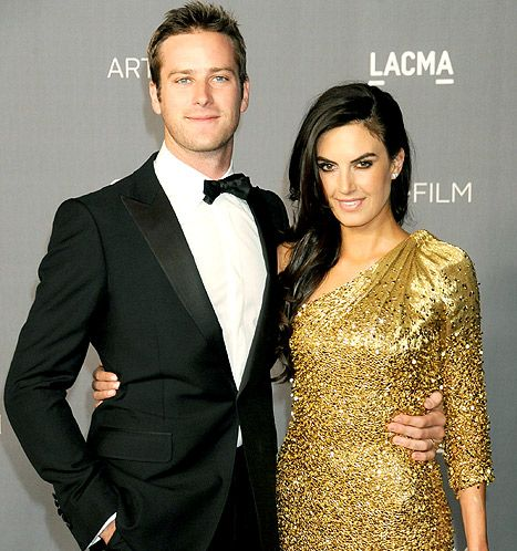 Elizabeth Chambers and Armie Hammer | Star Style | Pinterest