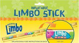 Hawaiian Inflatable Limbo Stick 6 Feet: Amazon.co.uk: Toys & Games