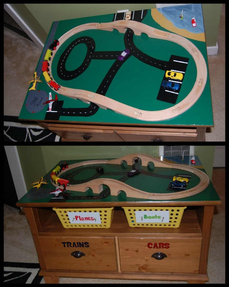 Easy Diy Train Table Inspiration From A Coffee Table Diy Crafts Pinterest Tables Easy