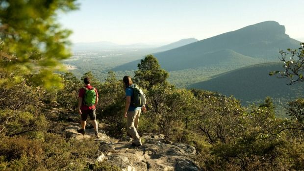 A landmark 144 kilometre walking trail – which authorities hope will be a tourism magnet in the same manner as Tasmania's famed Overland Track – will be built in the Grampians in north west Victoria.