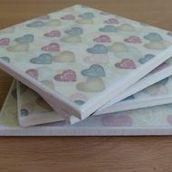 Love Heart Coasters - £10