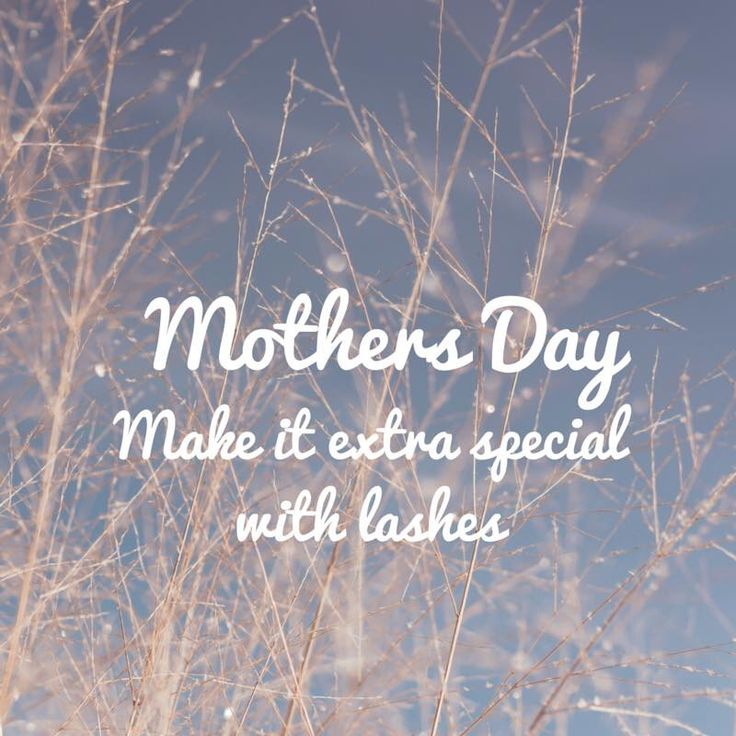 Make mothers day extra special.... With lash extension vouchers. Mother and daughter special offers available : )