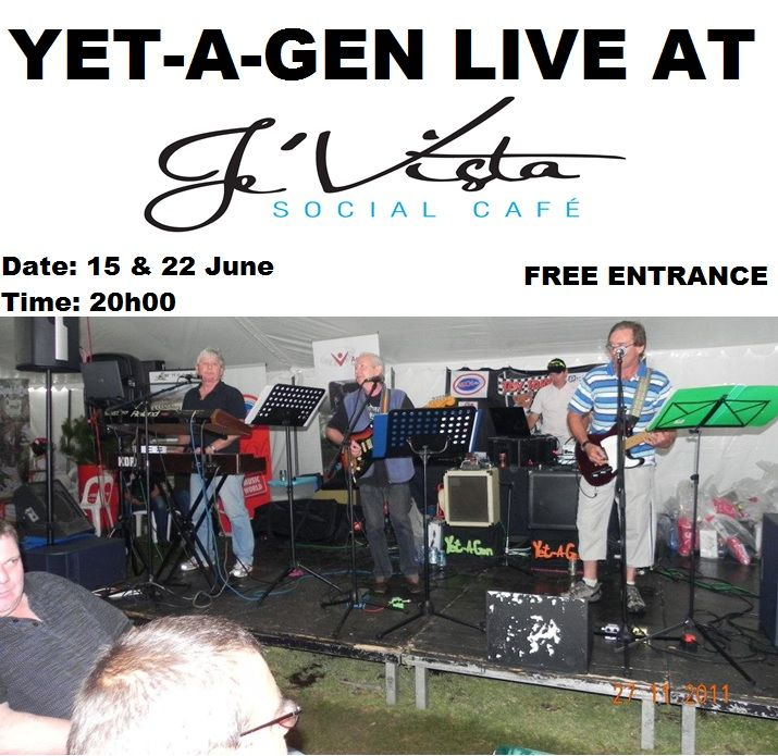 One of our popular #bands at #Jevista is YET-A_GEN who have performed at our venue a few times over the last few months.