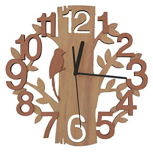 Giftgarden Tree Shaped Wall Clock Wood Decorations Housew... https://smile.amazon.com/dp/B01I2PAB6C/ref=cm_sw_r_pi_dp_x_hLuxybEWDGWPA