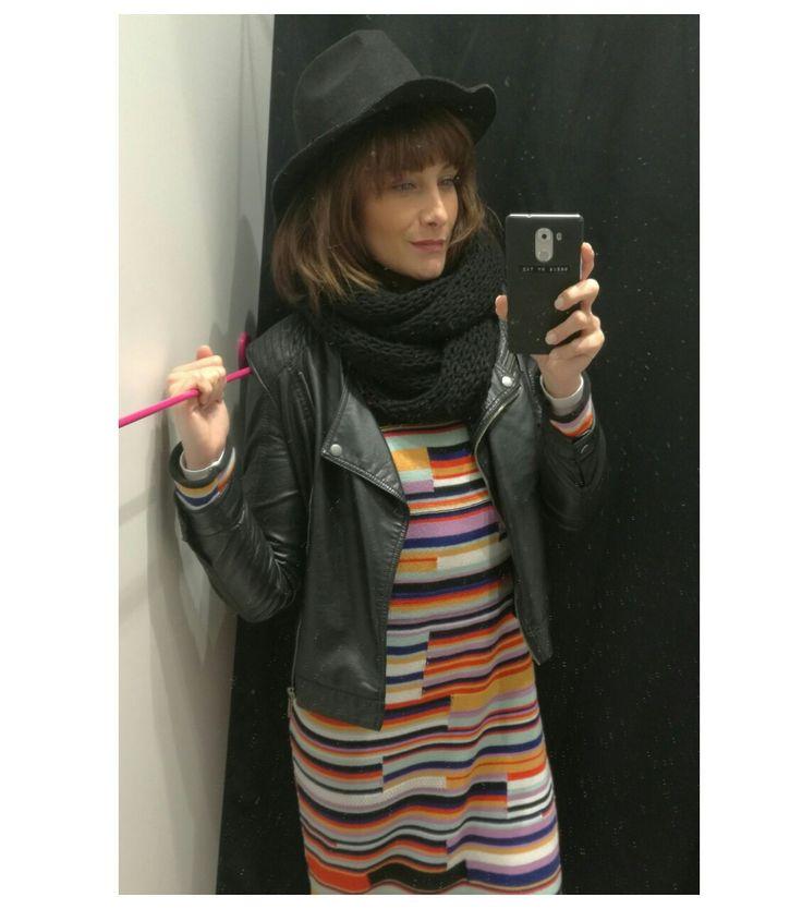 #knitwear   Hat @house_brand  Jacket @camaieu  Dress @zara  . . . . . . #ootd #wiwt #outfit #outfitinspiration #outfitdailyofficial #outfitoftheday #wiw #whatiwear #whatiweartoday #whatiwore #look #lookoftheday #lotd #lookbook #fashion #dressbytez #fashionista #fashionblogger #fashiongram #fashionstyle #czech #czechgirl #czechblogger #dnesnosim  #style #winter #winteroutfit #winteroutfits