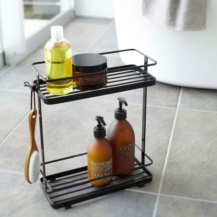Tower White/ Bath Rack by Yamazaki Home
