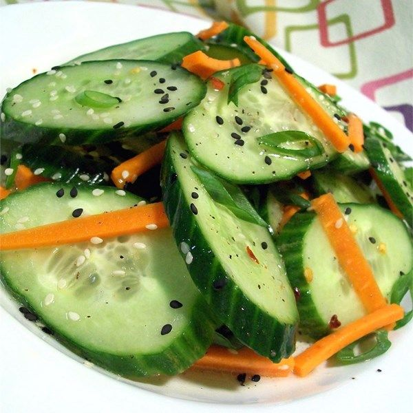 """Korean Cucumber Salad 