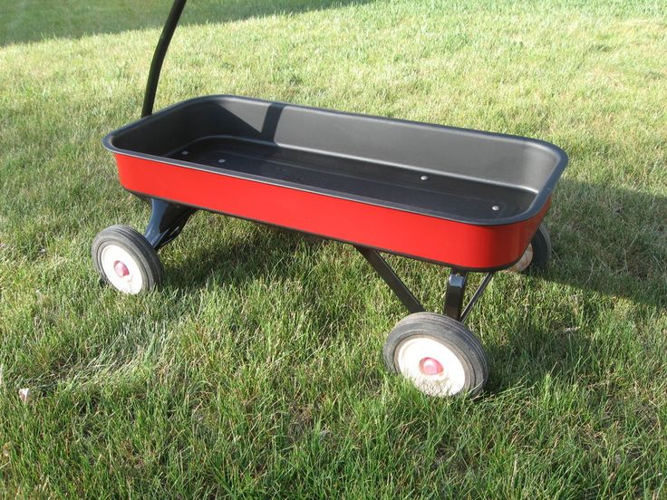 Picture of Refinish Your Old Radio Flyer Wagon