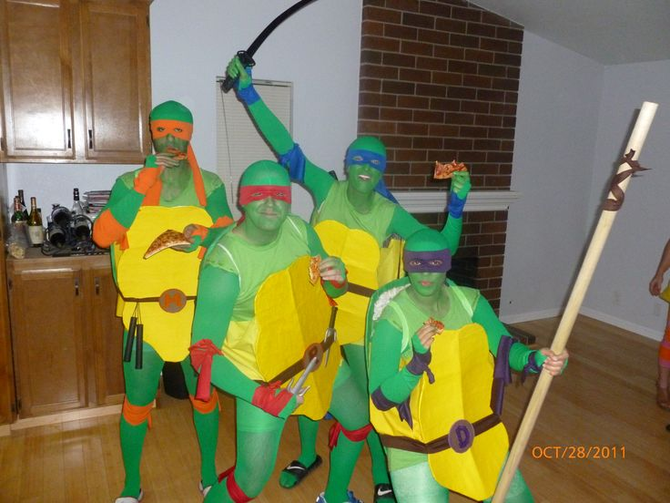 11 best halloween images on pinterest costume ideas halloween tmnt ninja turtles homemade costumes solutioingenieria Image collections
