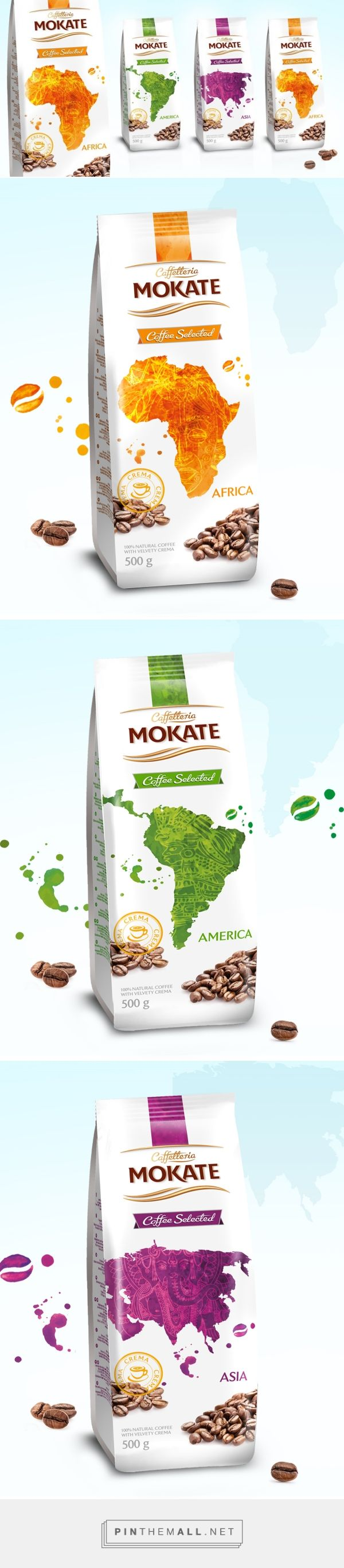 Mokate Coffee Selected - Packaging of the World - Creative Package Design Gallery - http://www.packagingoftheworld.com/2016/05/mokate-coffee-selected.html