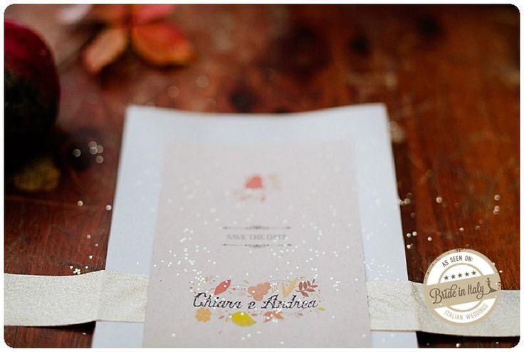 Autumn colors and glitter. by Caratterino. Ph Cinzia Bruschini http://www.brideinitaly.com/2012/12/cinzia-autumn-inspiration.html #italianstyle #wedding