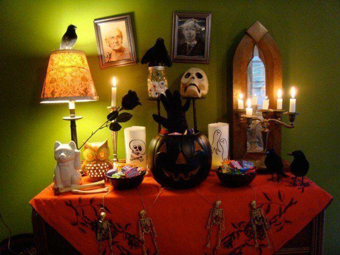 Idees Deco Halloween Faire Soi Meme #11: Déco Halloween - 111 Idées Pour Surprendre Vos Amis - Archzine.fr.  Déguisements Halloween - Deco Halloween A Faire Soi Meme