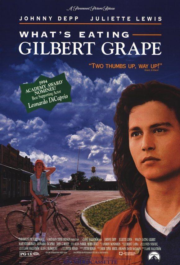 Ask Kapiyi Calinca - What's Eating Gilbert Grape - 1993 - DVDRip Film Afis Movie Poster