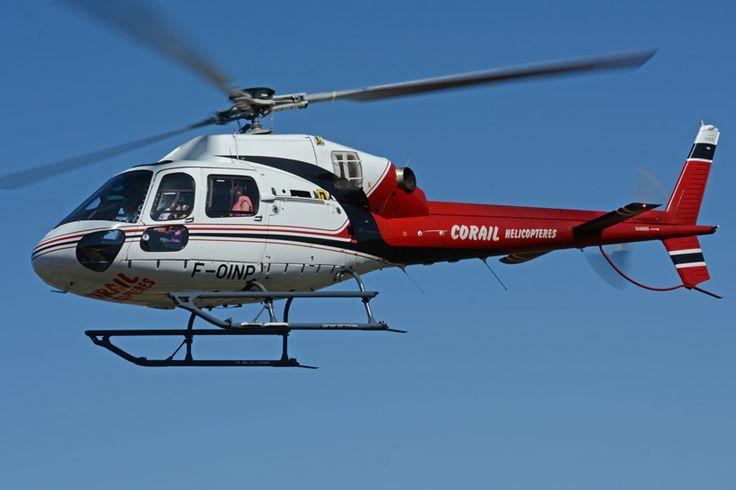 Hélicoptère AS350 Ecureuil de CORAIL Hélicoptère