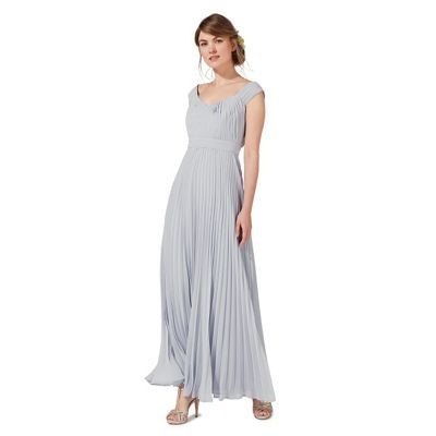 This pale grey dress from Debut is perfect for a variety of special occasions an…