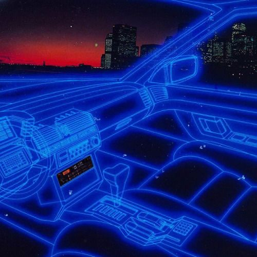 neontalk: JVC Car Audio. Ad. 1983  #neontalk #laser #jvc...