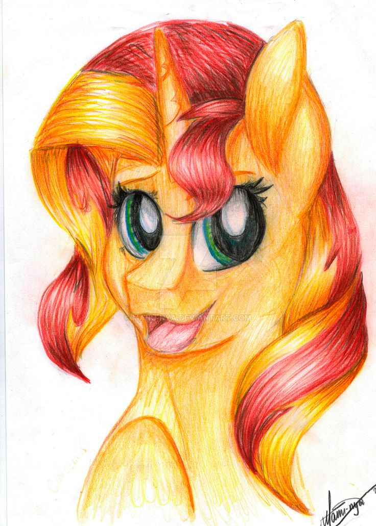 Sunset Shimmer by Manu-nya.deviantart.com on @DeviantArt